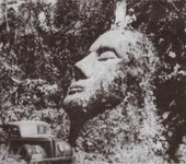 The Guatemala Stone Head